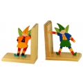Standing Pocket Pixie Bookends